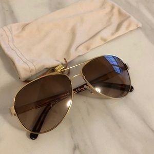 Authentic Tory Burch Aviator Women's Sunglasses